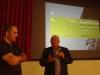 Il sindaco di Asuni Sandro Sarai e il presidente della Provincia di Oristano Pasquale Onida